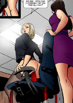 New, hot femdom art and an exciting story that demands to be read again and again